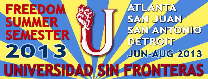 Freedom Summer Semester 2013